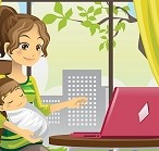 5 Tips For Working At Home With Baby