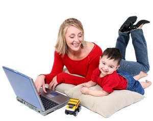 Working At Home With Baby? - 5 Tips That Could Help