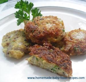 Baby's Quinoa Bites