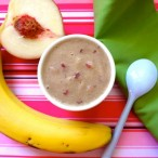 White Peach and Banana Puree