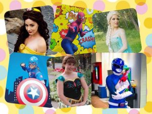 Family Fun this Sunday! Meet Elsa, Belle, Spiderman, Captain America and a Power Ranger!